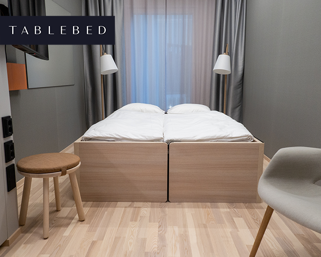Tablebed Valo Hotelli & Work